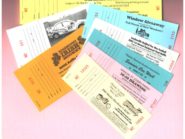 ticket book printing